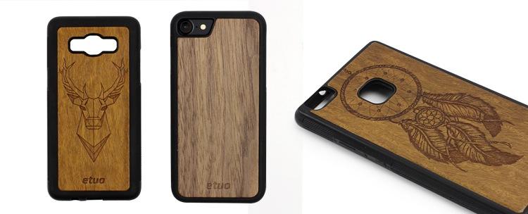 dřevěné pouzdra