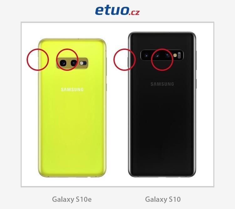 Smartphone Samsung Galaxy S10 a jeho odlehčený bratr S10e