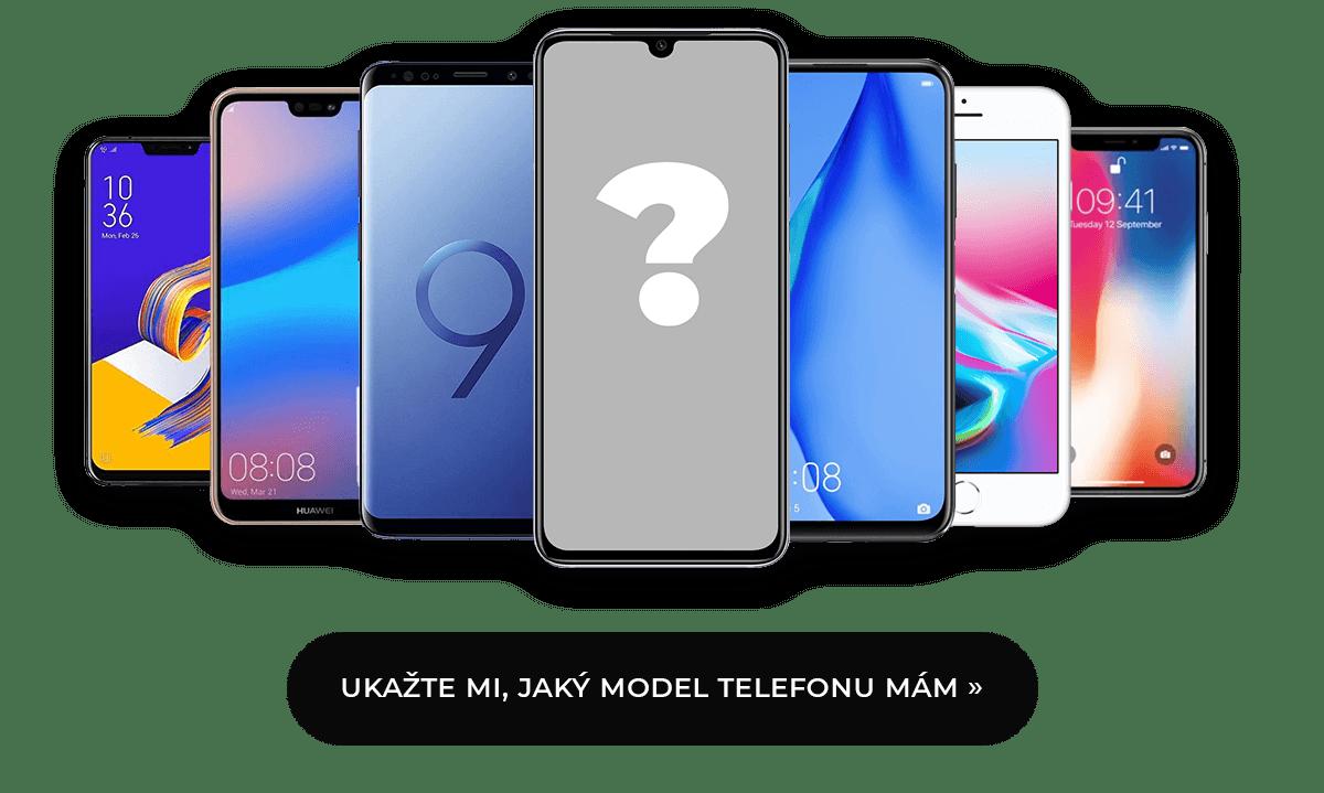 Jaký model telefonu mám?